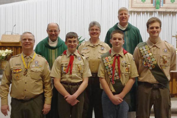 Saint Dennis Parish Organizations and Activities Boy Scouts