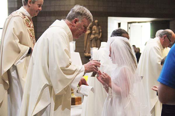 Saint Dennis Parish Sacraments First Holy Communion