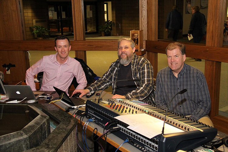 Saint Dennis Parish Sound Engineers Give Their Time and Talent