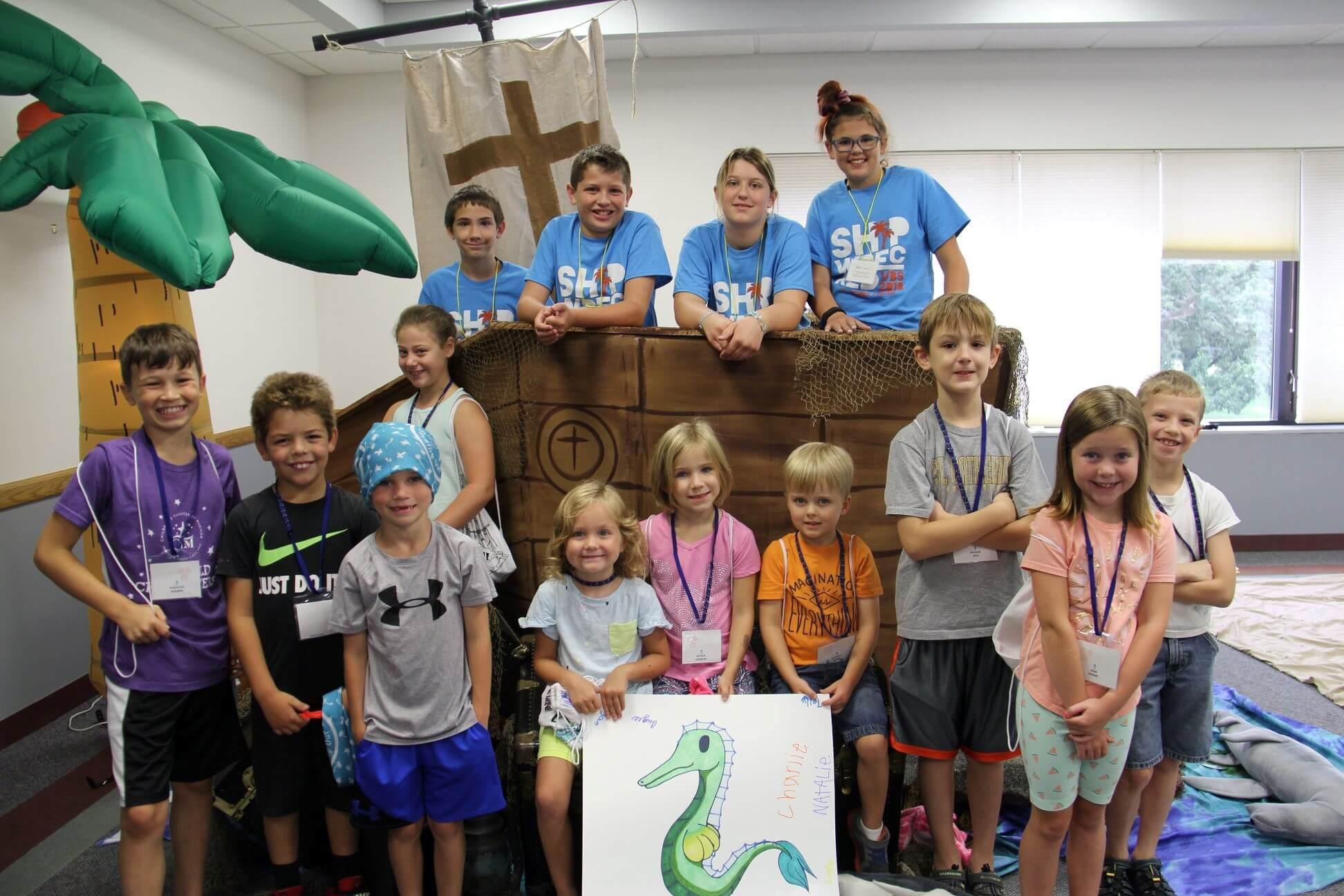 Saint Dennis Parish Vacation Bible School Children